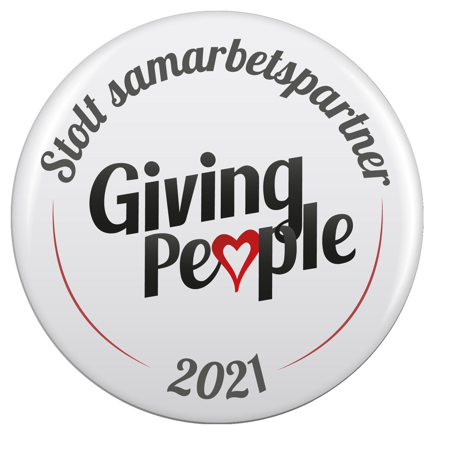 Sponsring Giving People Samarbete